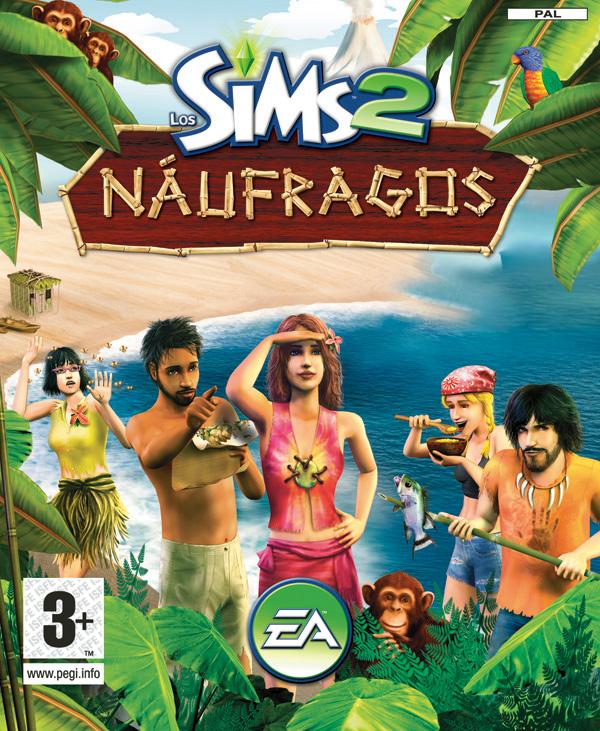 Portada de Los Sims 2 Náufragos