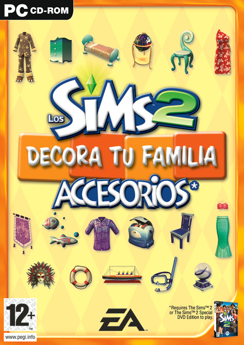 Sims 2 Rip 2 Links, Expansiones Incluida Decoratufamiliaportada