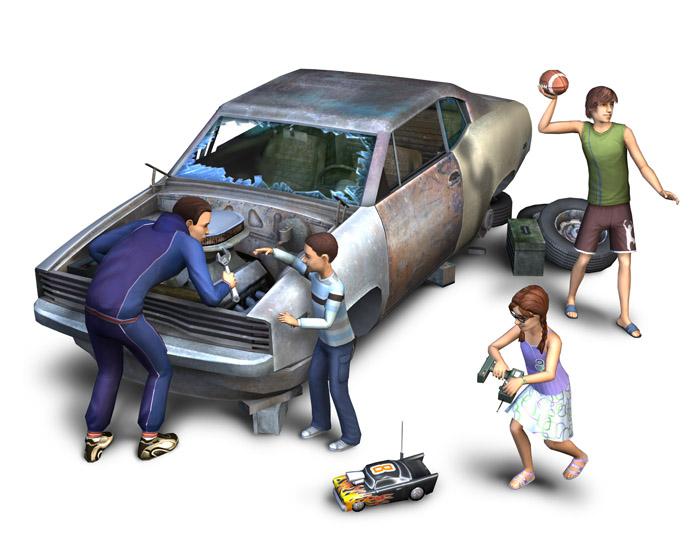 Пресс-релиз The Sims 2 FreeTime - 16.01.2008. Возможности дополнения FreeT